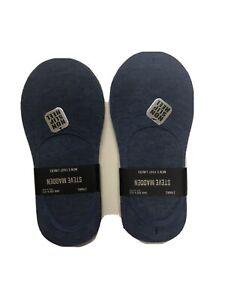 Steve Madden Socks Foot liners Ped Socks No Show 6 Pack Mens Size 6 - 12.5