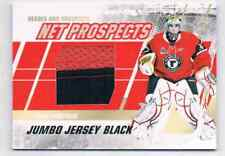 2010-11 HEROES & PROSPECTS JUMBO JERSEY PRIME LOUIS DOMINGUE JERSEY 2 COLOS