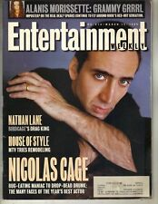 NICOLAS CAGE Entertainment Weekly Mag 3/15/96 ALANIS MORISSETTE SHALOM HARLOW