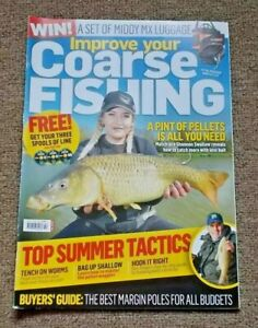Improve your Coarse FISHING magazine  May 7 - June 4 2019  Tench on worms