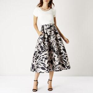 COAST Meslita Animal Print Skirt - UK 6, UK 8 UK 16