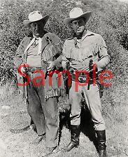 "Wild Bill Hickok & Jingles Tv Stars Guy Madison & Andy Devine Photo 8"" X 10"""
