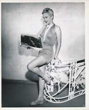PENNY EDWARDS Leggy Original Vintage 1940s McCARTY Warner Bros CHEESECAKE Photo