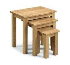 Solid Wood Fixed Nested Tables