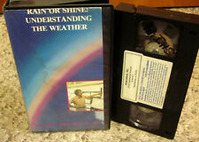 RAIN OR SHINE documentary Understanding the Weather VHS forecasts 1987 education