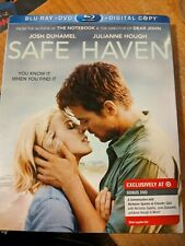 Safe Haven Blu Ray DVD digital NEW from author of the Notebook Nicholas Sparks