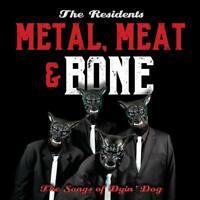 Residents,the - Metal,Meat & Bone (2cd+Hardback Book) 2CD+BUCH NEU OVP