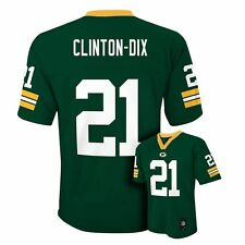(2016-2017) Green Bay Packers HA HA CLINTON-DIX Jersey YOUTH KIDS BOYS (xl)