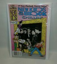 ☆ New Kids on the Block Chillin' #1 1990 VERY NICE  F/SHIP