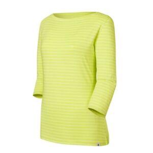 NWT Footjoy Ladies Boatneck striped XS small or Medium 3/4 Sleeve shirt 27393