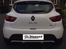 Renault Clio 4 2013-2016 GLOSS BLACK REAR  BADGE EMBLEM COVER various colours
