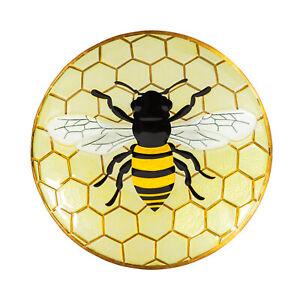 """Bee Bird Bath Bowl 18"""" Outdoor Garden Decor"""