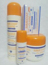 Immediat Claire lightening body lotion ,Serum cream, soap, fast action set of 4