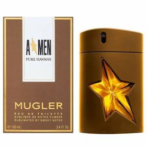 A MEN PURE HAVANE Thierry Mugler Eau De Toilette Spray 3.4 Oz New in Box
