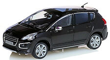 PEUGEOT 3008 SUV 2013-2009-14 negro negro metálico negro PERLA NERA 1:43 Ni