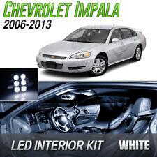 Truck Light Bulbs: 2006-2013 Chevrolet Impala White LED Lights Interior Kit (Fits: Chevrolet  Impala),Lighting