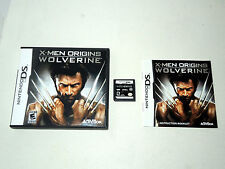 X-MEN ORIGINS WOLVERINE complete in box with manual Nintendo DS game