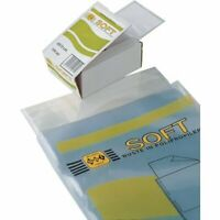 conf.100 Esselte Buste a U in polipropilene Deluxe 25x35 cm 395901400