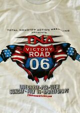 TNA 2006 Victory Road T-Shirt XL Wrestling Samoa Joe AJ Styles Sting PPV