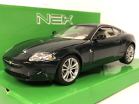 Jaguar XK Coupe Green 1:24 Scale Welly 22470G New Boxed