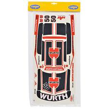 Decal Sheets 1:10 BMW 320i E21 Size 5 Angle Hock WÜRTH Carson 69197 800007