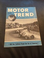 MOTOR TREND 1950 MAY Vol 2 No 5 GAS TURBINE, MERCURY, SIMCA, Magazine Edelbrock