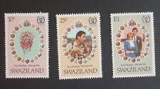 Swaziland 1981 Royal Wedding Bouquet flower MNH UM unmounted mint vcx