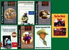 Ray Hunt Horsemanship, Colt, Trailer, Appreciation, Fort Worth - 7 DVD BRAND NEW