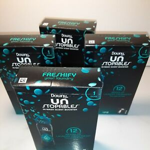 4pk Downy Unstopables Freshify in Wash Scent Booster Fabric Enhancer