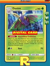 Dustox / Beautifly Playset (4x) - for Pokemon TCG Online (ptcgo in Game Card)