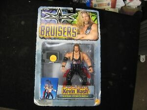 1999 Toy Biz WCW Bruisers KEVIN NASH Action Figure