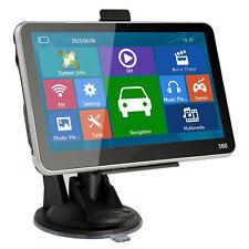 "Hot! 5"" inch GPS SAT NAV Car Navigation System Newest 8GB AU EU Free Maps IB"