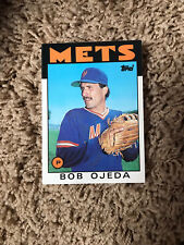 1986 Topps Traded New York Mets Card #81T Bob Ojeda