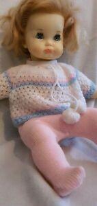 Schildkröt-Puppe Schlummerle mit Schmoll Mund und Schlafaugen, 60er/ Top Zustand