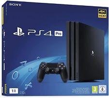 Sony PlayStation 4 Pro Konsole (1TB, Schwarz, CUH-7X16B, mit Controller)