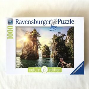 RAVENSBURGER 1000 Jigsaw Puzzle No 15 Nature Edition 139682 Three Rocks Thailand