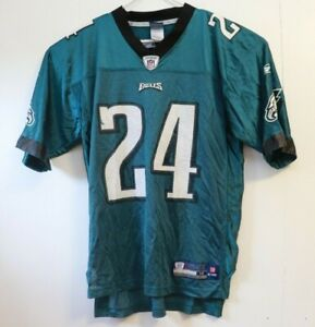 Nnamdi Asomugha #24 Philadelphia Eagles Reebok NFL Jersey Sz M