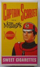 Gerry Anderson Captain Scarlet Barratt Sweet Cigarette Box 1967 Packet
