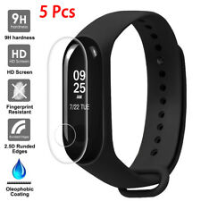 5Pc 0.1mm Hd Clear Lcd Tpu Full Cover Screen Protector Film For Xiaomi Mi Band 3