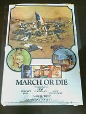 Movie Poster Gene Hackman March or Die Original Film Posters Motion Picture 1977