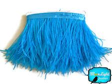 1 Yard - TURQUOISE Ostrich Fringe Trim Wholesale Feather (bulk)