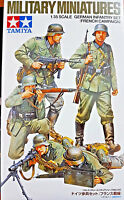 German Infantry Set (French Campaign) 5 Sodati Tedeschi - Tamiya Kits 1:35 35293