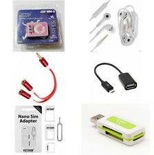 Combo MP3 Player | Headset | Mp3 Splitter | OTG | Sim Adapter | Card Reader