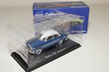 B ATLAS VOLVO COLLECTION VOLVO 120 AMAZON AMAZONE BLUE WITH GREY ROOF MINT BOXED