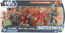 Star Wars Clone Wars - DARTH MAUL RETURNS 3-PACK ~ Maul, Nightsister, Opress