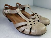 ROCKPORT COBB HILL COLLECTION Angelina Tan Beige Pumps Heels Sz 10 M   MSRP $120
