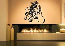 Horse Mustang Decal Sticker Farm House Decor Wall Vinyl Sticker Art #1382