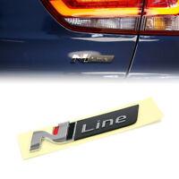 OEM Hinten Heckklappe Emblem N-Line Logo ABS für Hyundai I30 Tucson N-Line