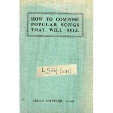 """BOB GELDOF """"HOW TO COMPOSE POPULAR..."""" CD NEW"""