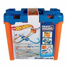 Kinderrennbahn Hot Wheels GGP93 Track Builder Deluxe Stunt Box Spielzeug B-WARE